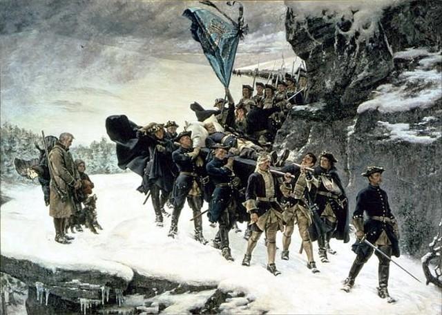 Karl XII dör i Norge