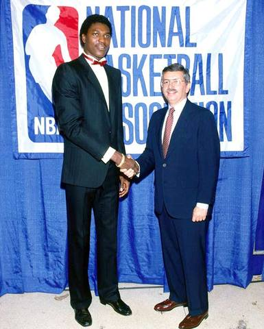 1st overall pick in the 1984 NBA Draft