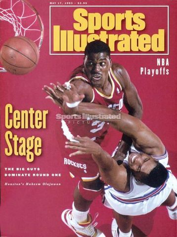 Hakeem is featured on the cover of Sports Illustrated