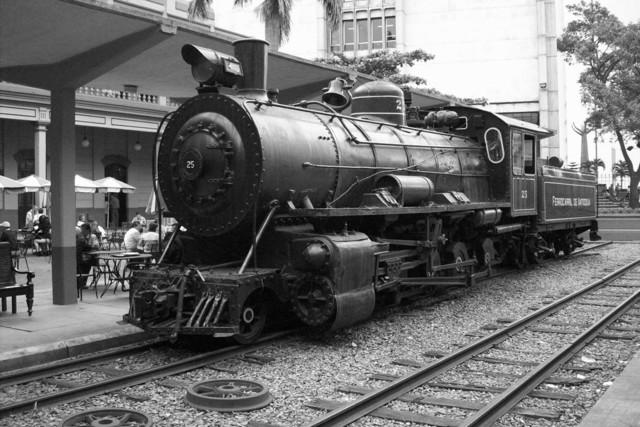 Iniciación de la via ferrocarril