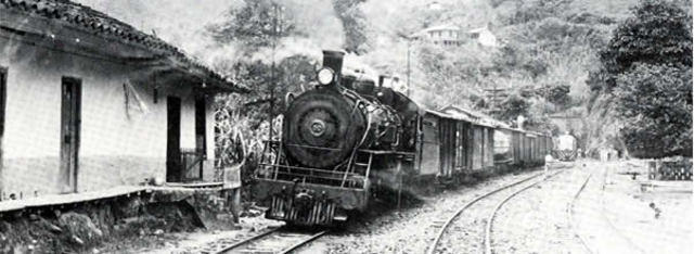 El primer tren en soacha