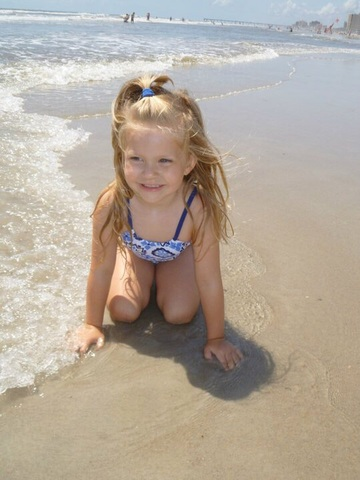 The First Time I went to the Ocean