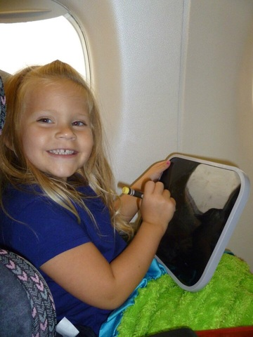 The First Time I Flew on an Airplane