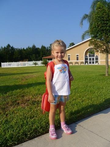 My First Day of School-VPK