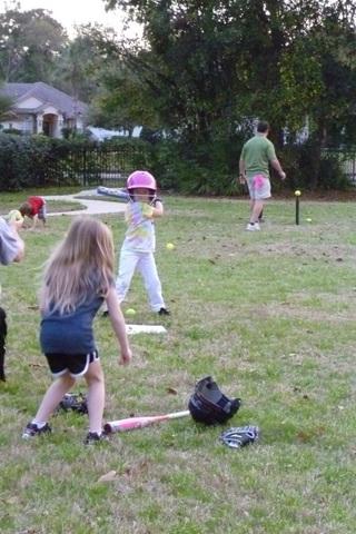 My Very First Softball Practice