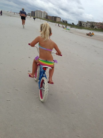 The First Time I Rode My Bike Without Training Wheels