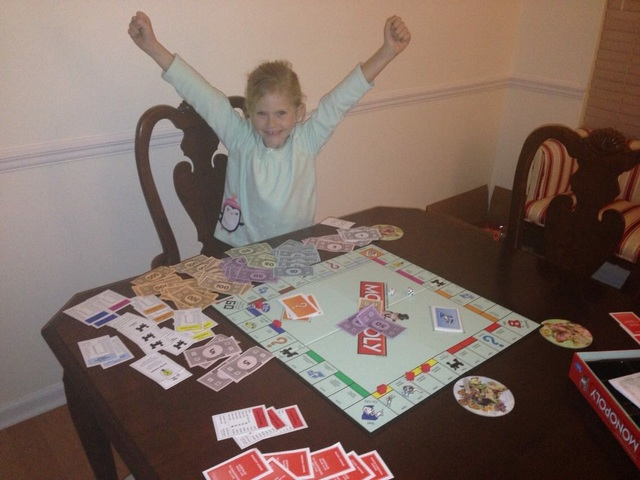 The First Time I Played Monopoly