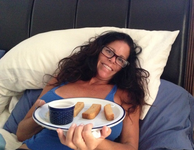 First Time I made My Mom Breakfast in Bed
