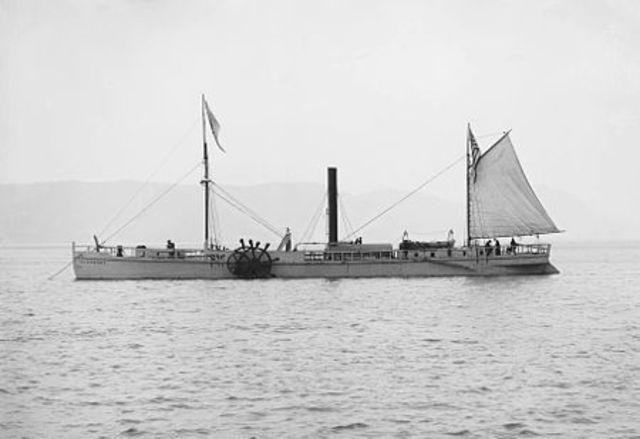 First Steam Boats in U.S.