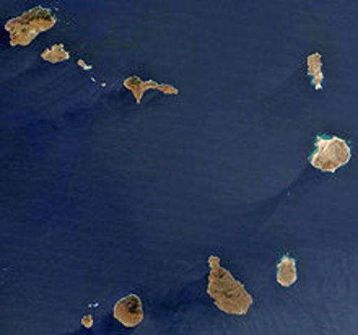 su primera escala (Santiago de Cabo Verde)
