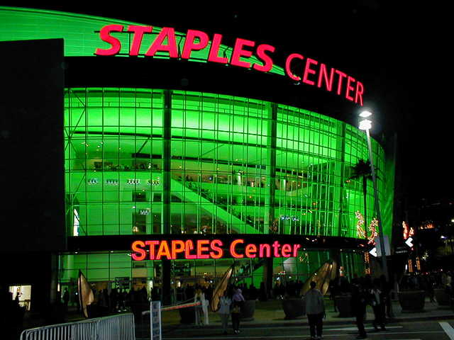 Concert at the Staples Center
