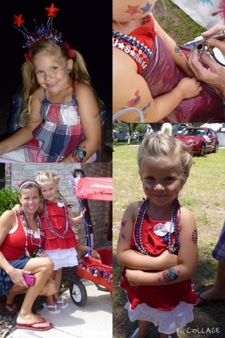My First Fourth Of July Parade in Florida