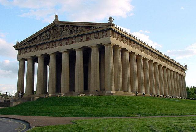 Parthenon Photo shoot
