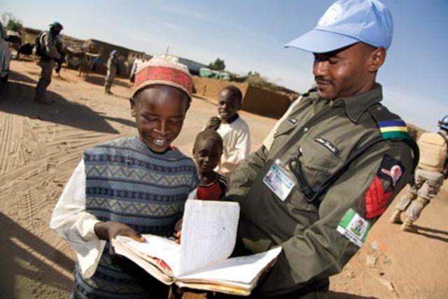 UN establishes hybrid peacekeeping operation