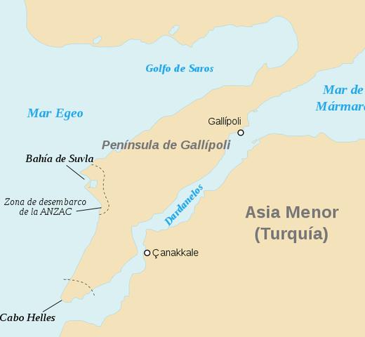 Batalla de Gallipoli