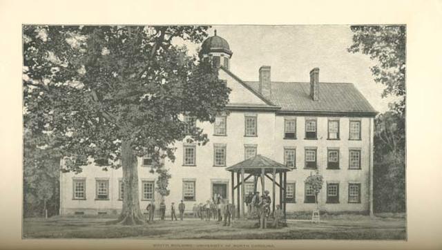 University of North Carolina is Founded