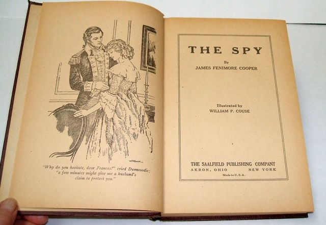 """Cooper Publishes """"The Spy"""""""