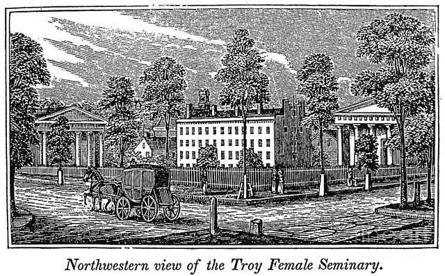 Emma Willard Establishes Troy Female Seminary