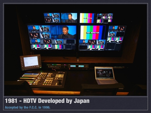 HDTV developed