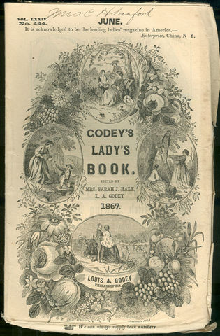 """""""Gody's Lady's Book"""" First Published"""