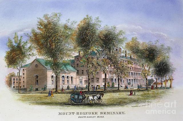 Mary Lyon Establishes Mount Holyoke Seminary