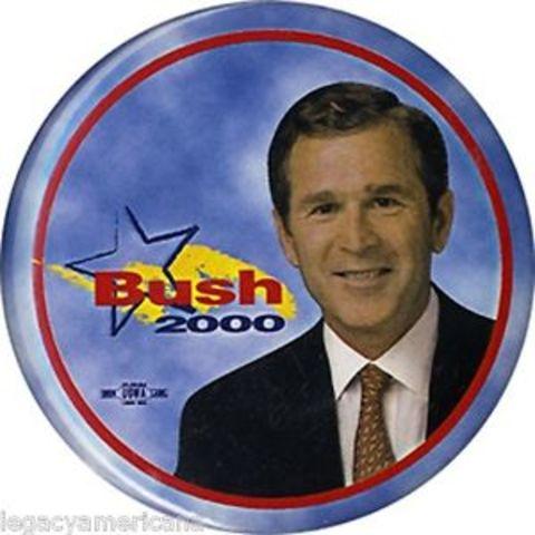 Election of George W. Bush