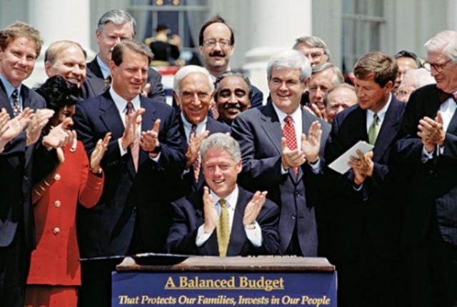 Balanced federal budget