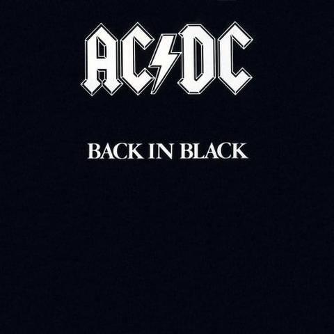 Back in Black. AC/DC