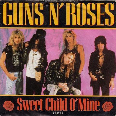 Sweet Child O' Mine. Guns n' Roses