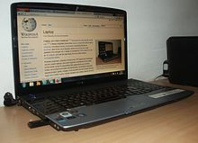 The first laptop was made