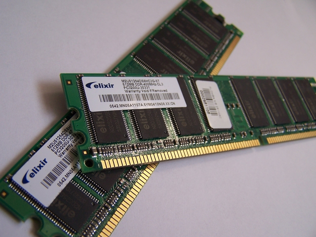 First type of RAM was invented