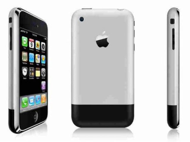 The first IPhone was released to the public