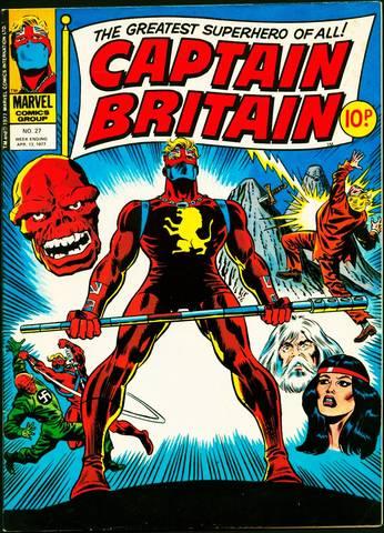 """""""Captain Britain"""""""