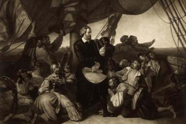 Columbus starts the new world voyage (27)
