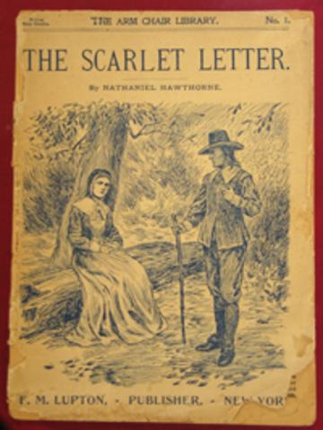 "Hawthorne Publishes ""The Scarlet Letter"""