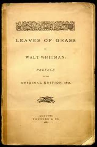 """Whitman Publishes """"Leaves of Grass"""""""