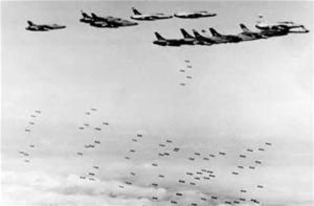 U.S airforce Bombing