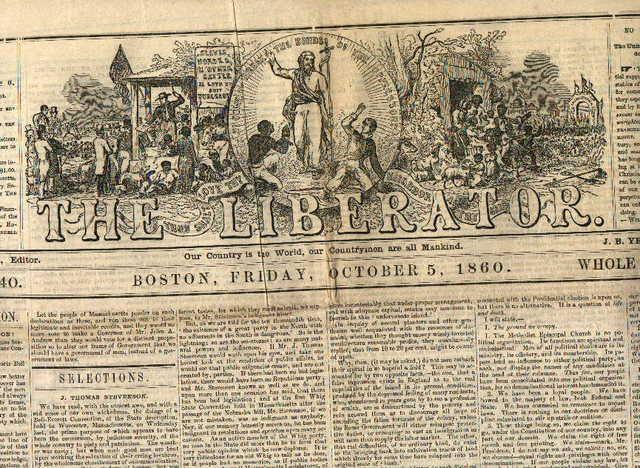 "Garrison Published ""The Liberator"""