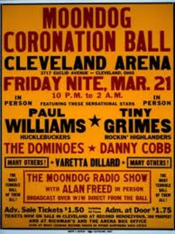 The First Rock Concert