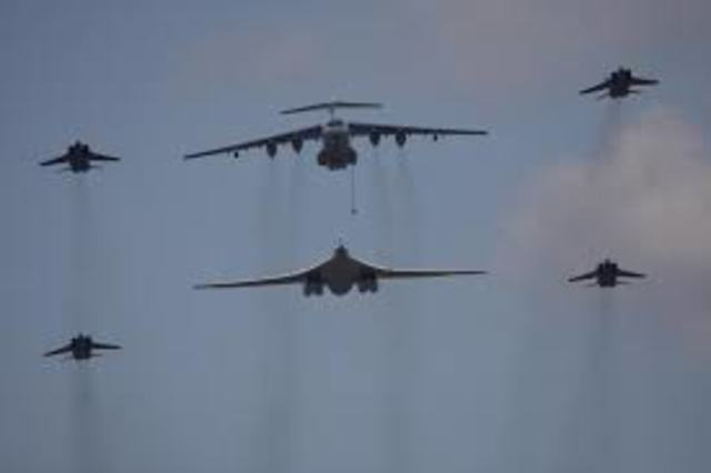 Je deviens pilote de l'armee de l'air russe.