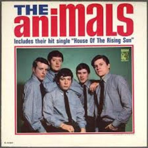 The Animals Top Pop Charts