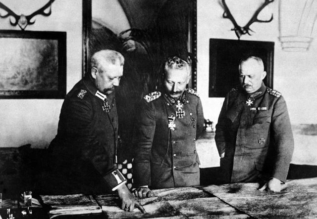 Abdicación de Guillero II, emperador de Alemania