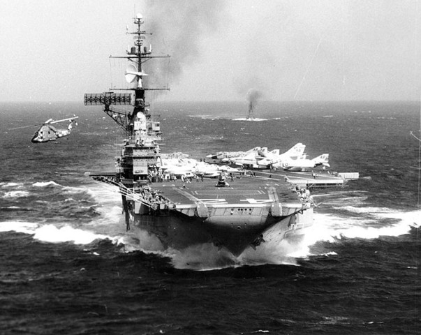 The attack on US Naval