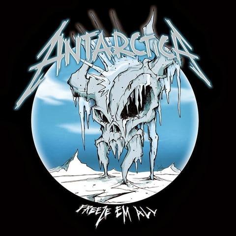 Metallica plays in Antarctica