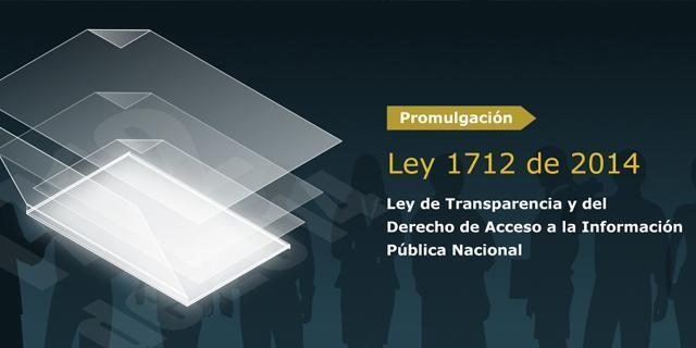 Ley 1712 de 2014