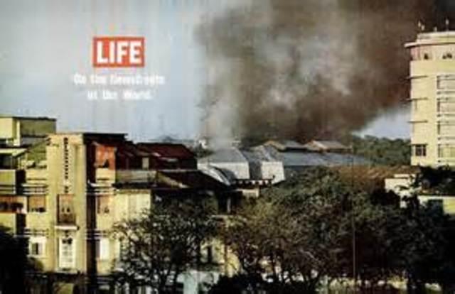 North Vietnam Attacked USA.