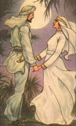 Muhammad Marries Khadija- AD 595