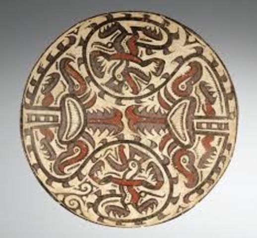 Conte Polychrome Ceramics-AD 600