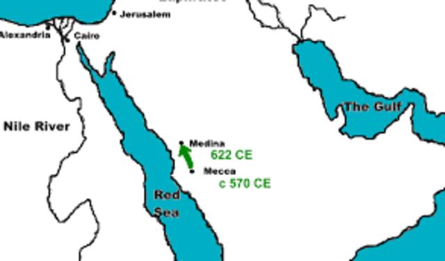 The Hijra- AD 622