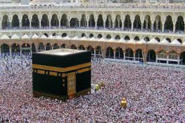 Islam in Mecca- AD 623